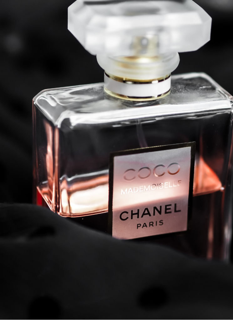 Image of fragrance covered with black silk   How to Store Perfumes 01