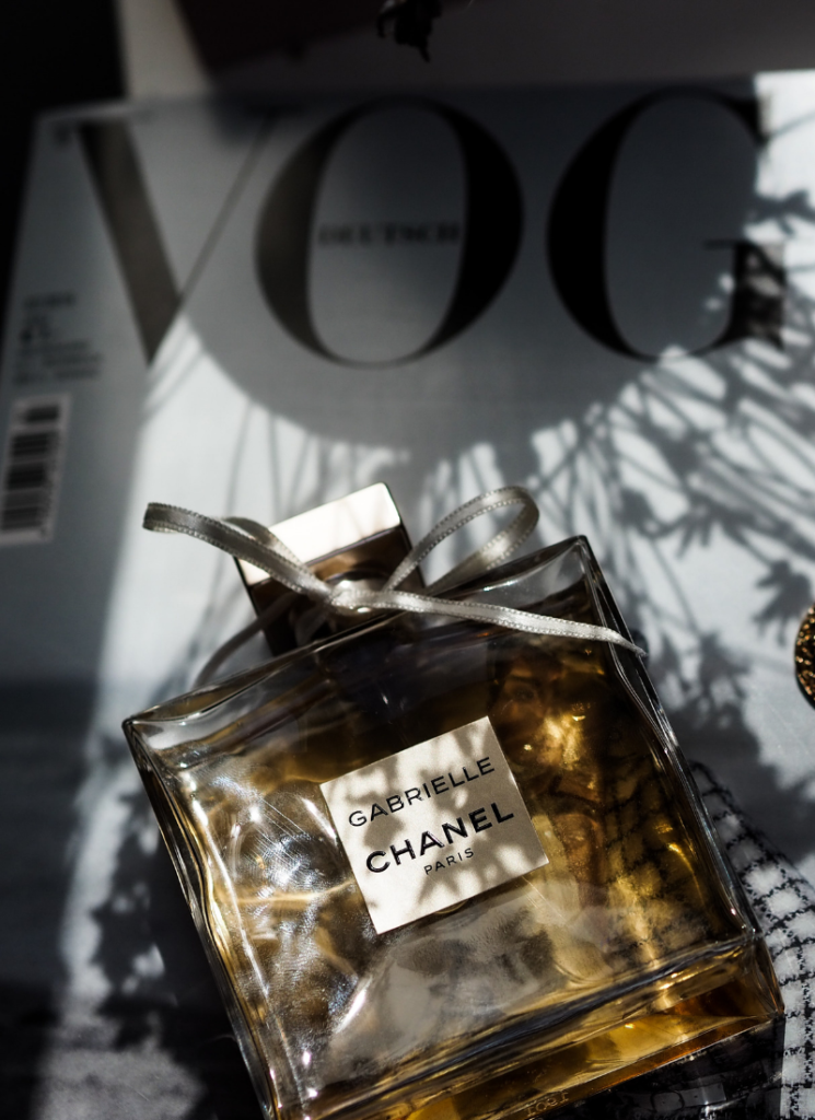 Image of fragrance covered with black silk | How to Store Perfumes 01