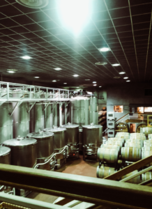 where they make wine with big wine barrels and juicers | Staycation at Chateau Elan Winery | 08